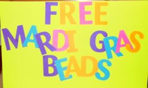 free mardi gras beads
