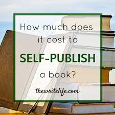 self publishing cost